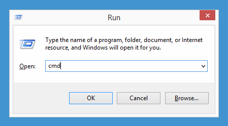"Windows' ""Run"" dialog with UAC still active."